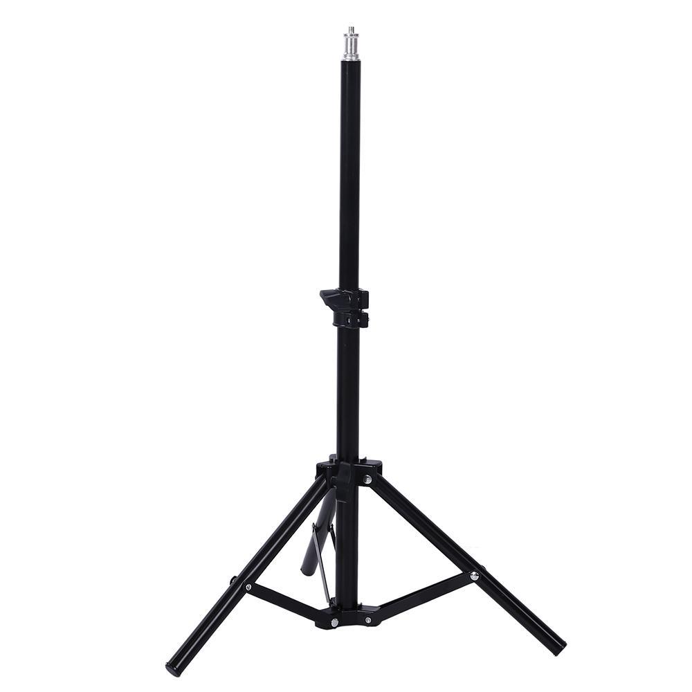 Portable 200cm Selfie Photo Tripod Ständer für Handy Digital Camera Ringlampe mit Bluetooth-Fernbedienung