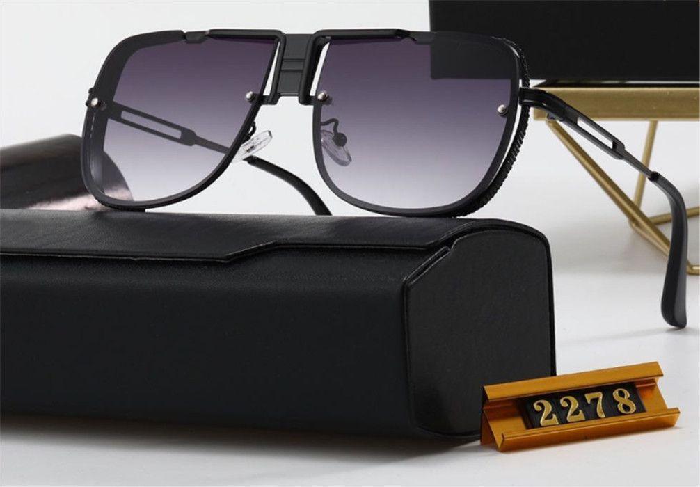 2278 Occhiali da sole Occhiali da sole Fashion Sunglass ProtectionTop UV400 Quality Manwoman 2342 Ditaità