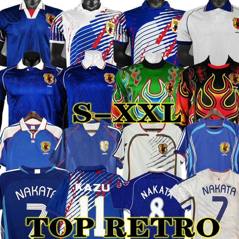 NAKATA 2006 Retro Japan Fussball Jersey Vintage 1998 1998 2000 Soma Akita Okano Kawaguchi 2002 Classic Football Hemd Kazu Hattori