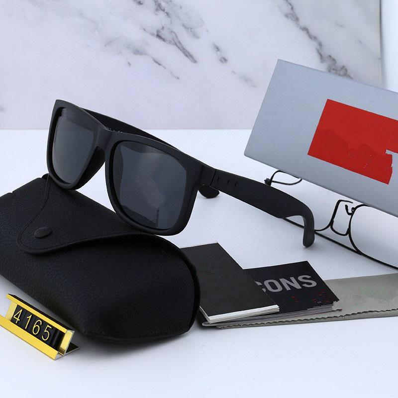 디자이너 선글라스 남자 여성 안경 야외 음영 PC 프레임 편광 된 UV400 레이디 태양 안경 상자