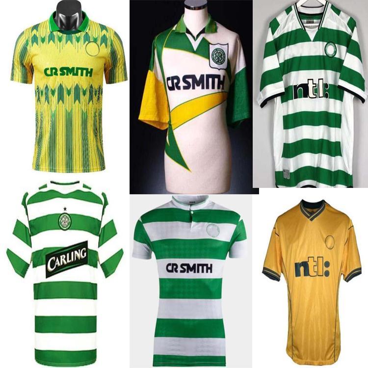 Top Quality80 82 85 86 87 89 9194 95 96 97 99 00 02 03 Jerseys de football celtique 05 06 Celtic Larsson Lambert Viduka Moravcik