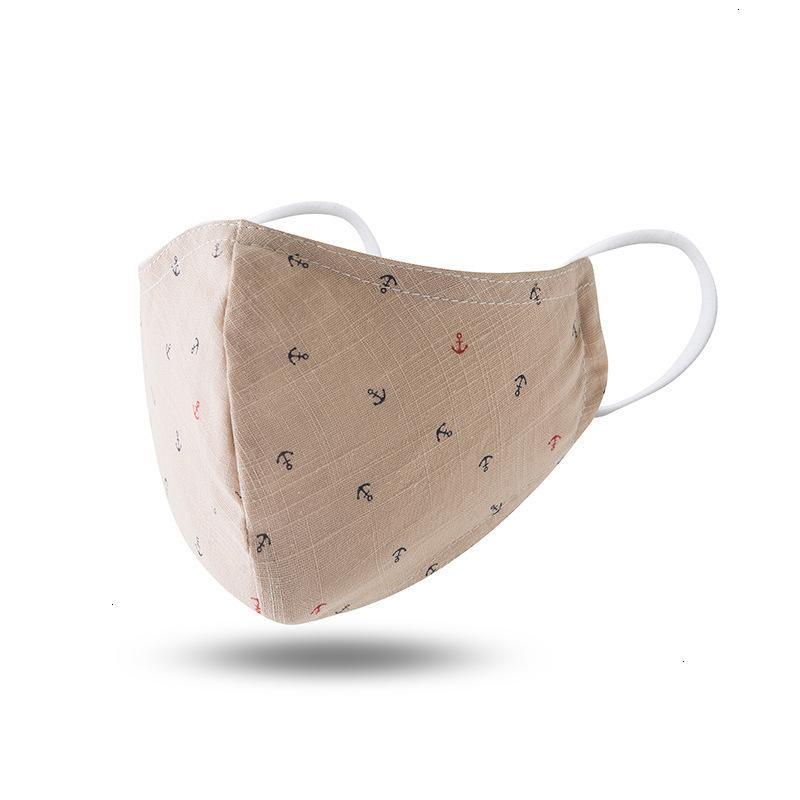 Avec protections adultes enfants masques jetables de dessin animé couches de filtre épaissir la face PM2.5 Masque anti-poussière pour Childr 9