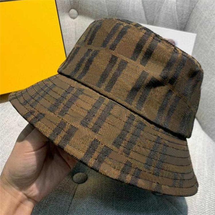 أزياء رجل امرأة دلو القبعات قبعات قبعة قبعة بيسبول للرجال إمرأة casquette براون رجل النساء الدلاء قبعة جودة عالية