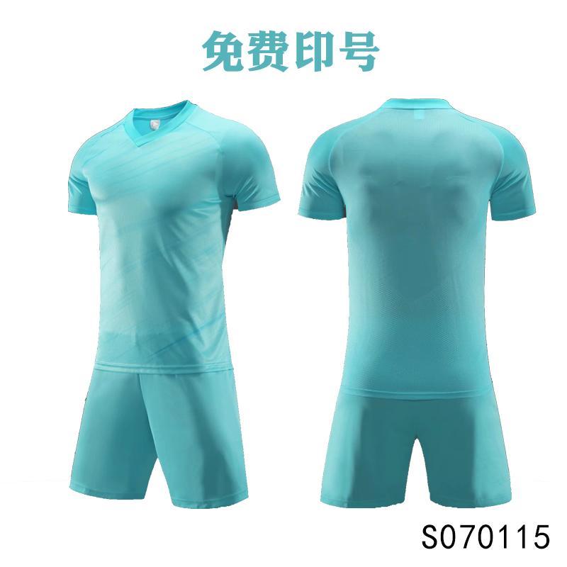 Männer Erwachsene Fußball-Trikot Kurzarm Fußball Hemden Fußballuniformen Hemd + Shorts - SO070115-6