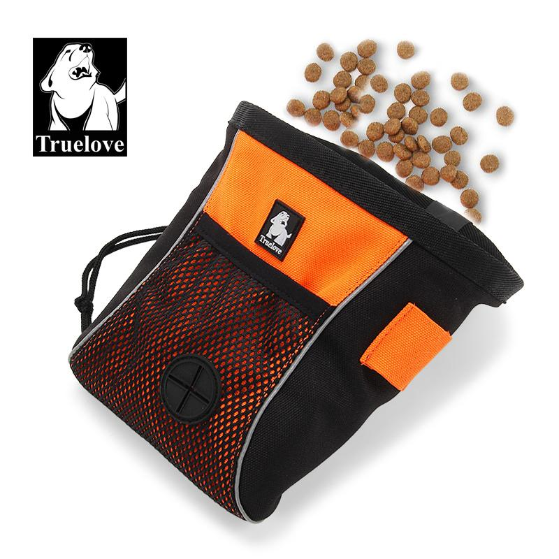 Truelove Pet Dog Treat Bags Portable Travel Training Clip-on Pouch Dog Bag Easy Storage Belt Bag Poop Dispenser Dogs Accessories L0220