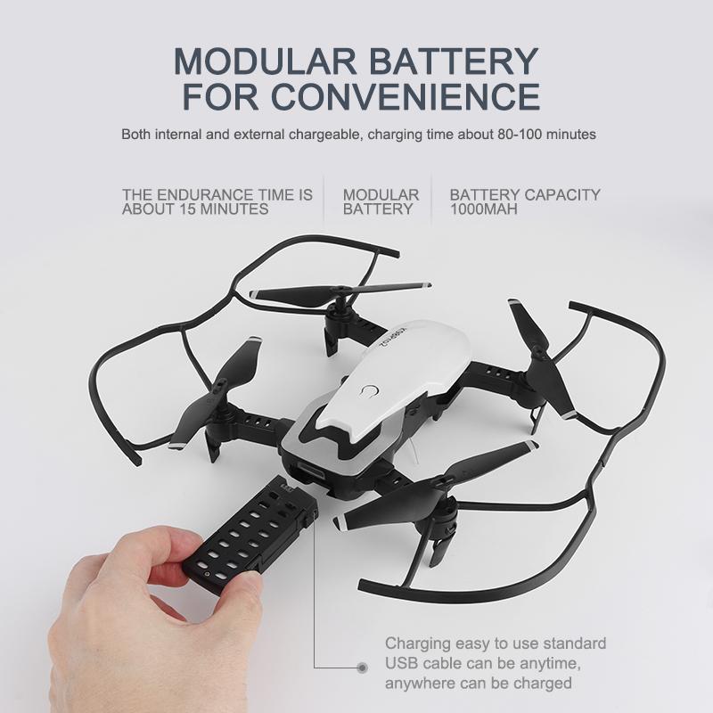 كاميرا مزدوجة طي الطائرات بدون طيار K98 برو 2 4K الهاتف المحمول التحكم عن بعد UAV عالية الوضوح الطائرات الجوية الطائرة