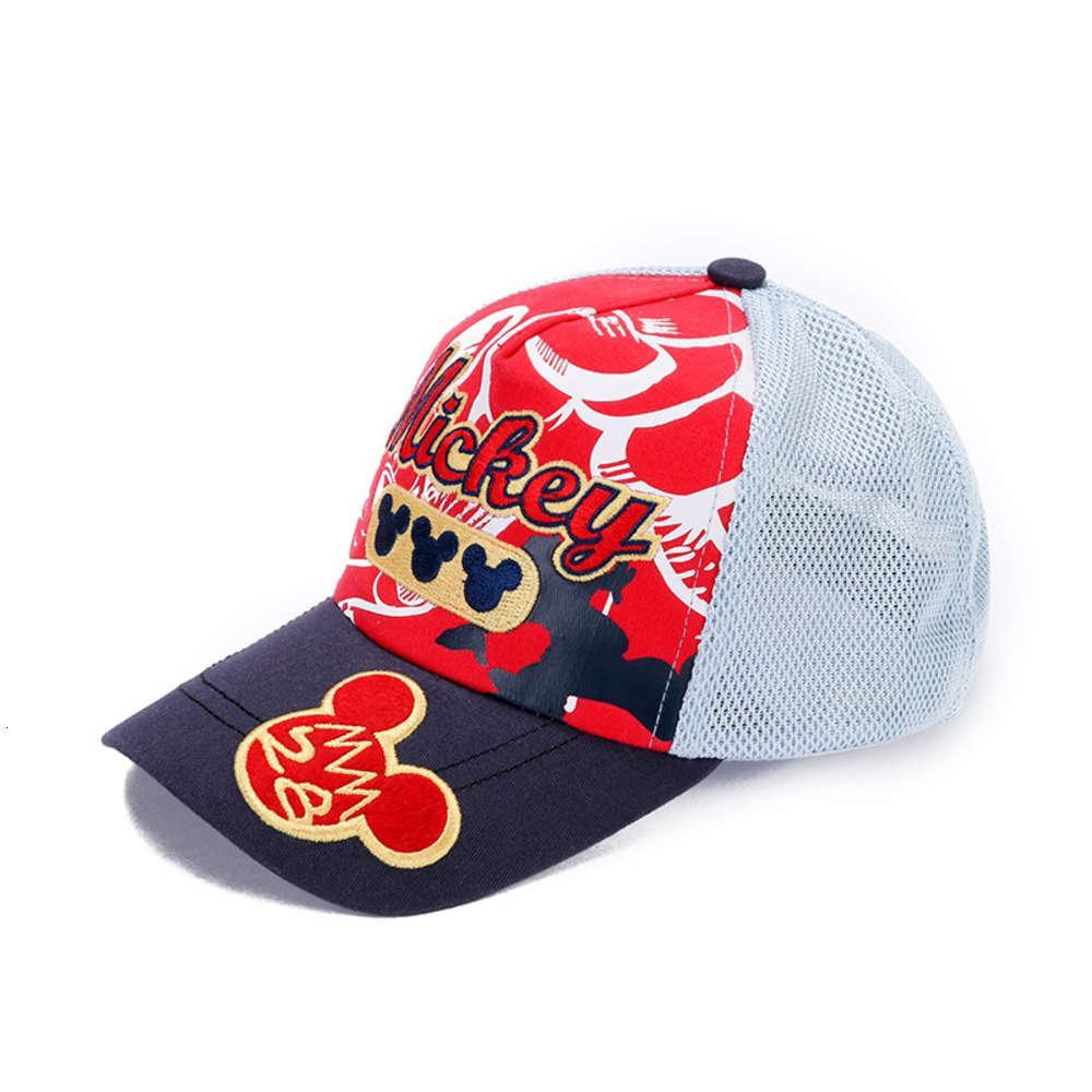 Moda infantil líquida respirável beisebol bonito cartoon chapéu ao ar livre homem