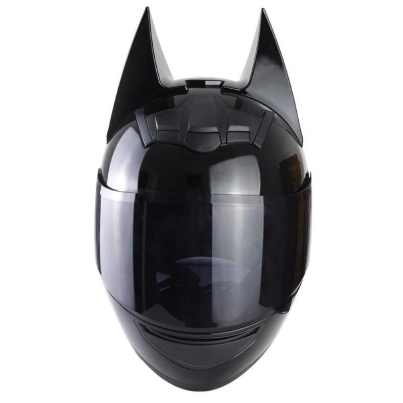 Motorradhelme Motorhelm Full Face Stilvolles ABS Ohr für Motocross