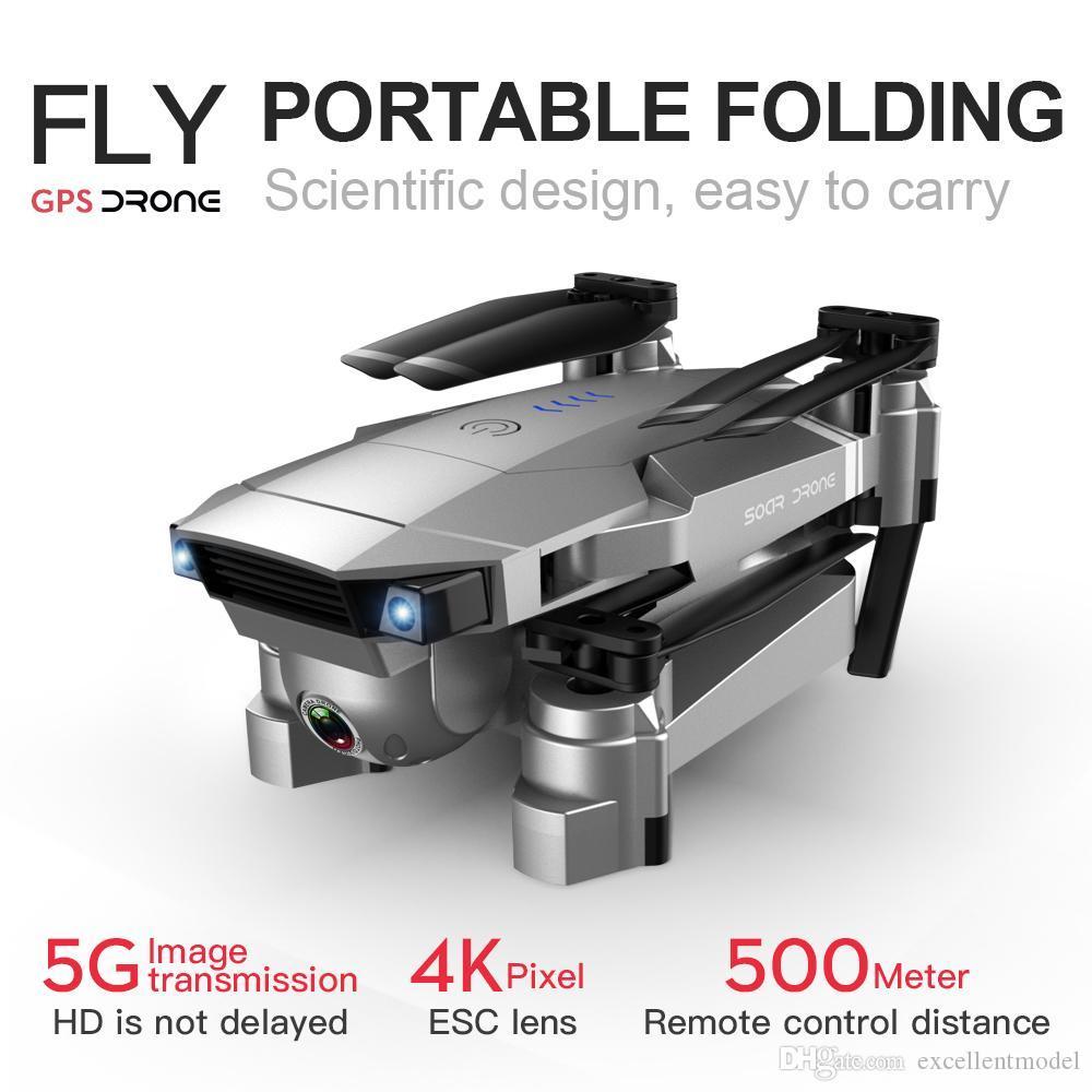 SG907 4K HD elektrische 90 ° -Anschlusskamera 5g WiFi FPV DRONE, GPS Optische Fluss-Doppelpositionierung, intelligentes Folgen, Verlustprävention, 2-2