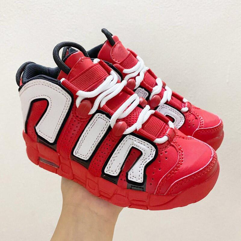 Air Basketball Kinder Jungen Mädchen Kind Jugend Sportschuhe Sneaker Größe EUR28-35