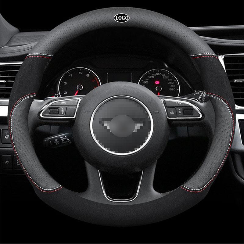 Steering Wheel Covers Car Cover 15 Inch/38cm Interior Parts For Mini JCW F56 R55 F55 R58 R60 R61 F57 Countryman Cooper Clubman
