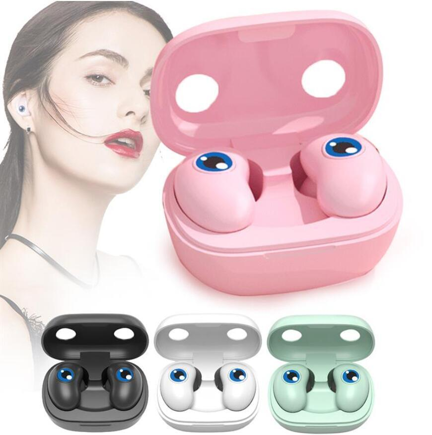 In Ear Wireless Bluetooth Earbuds V5.0 E6 EYES TWS Touch Control Waterproof Headphone Wireless Earbuds HIFI 6D Stereo Sports Headset