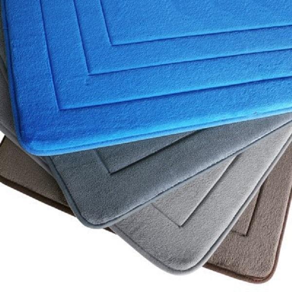 Absorvente não deslizante esteira de banho lavável memória espuma tapete de segurança home tapete pad para decoração de absorção de água do banheiro