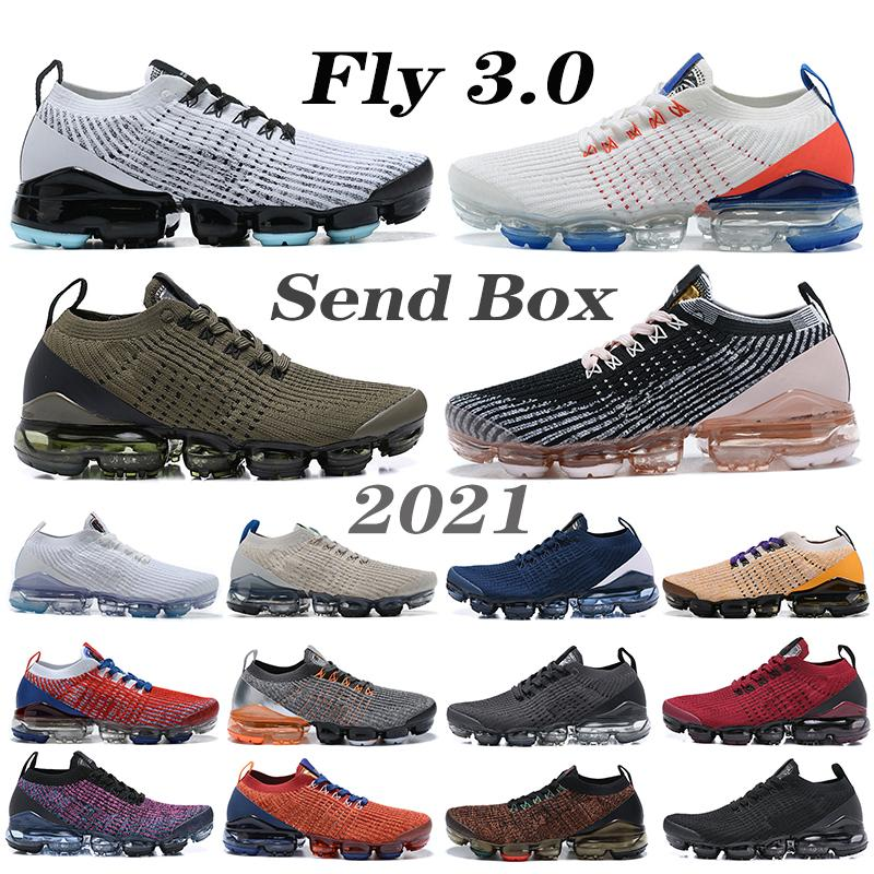 2021 Fly 3.0 Mens Scarpe da corsa Noble Red Dark Dark Grigio Totale Arancione South Beach Vivido Ppurple Knit 3.0 Donne Sneakers Ourdoor
