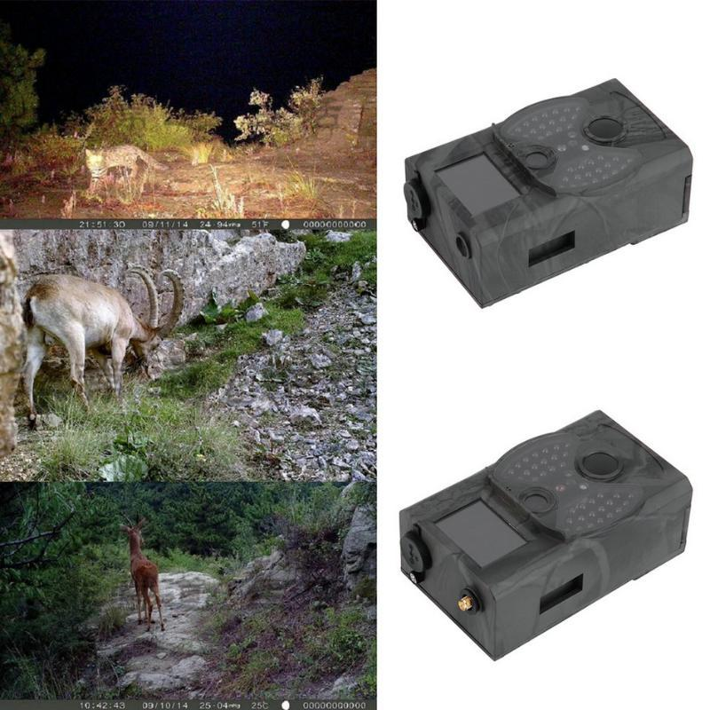 Shooting/Hunting camera HC300M HD GPRS MMS Digital 940NM Infrared Trail Camera GSM 2.0' LCD Cam Drop Shipping Quality