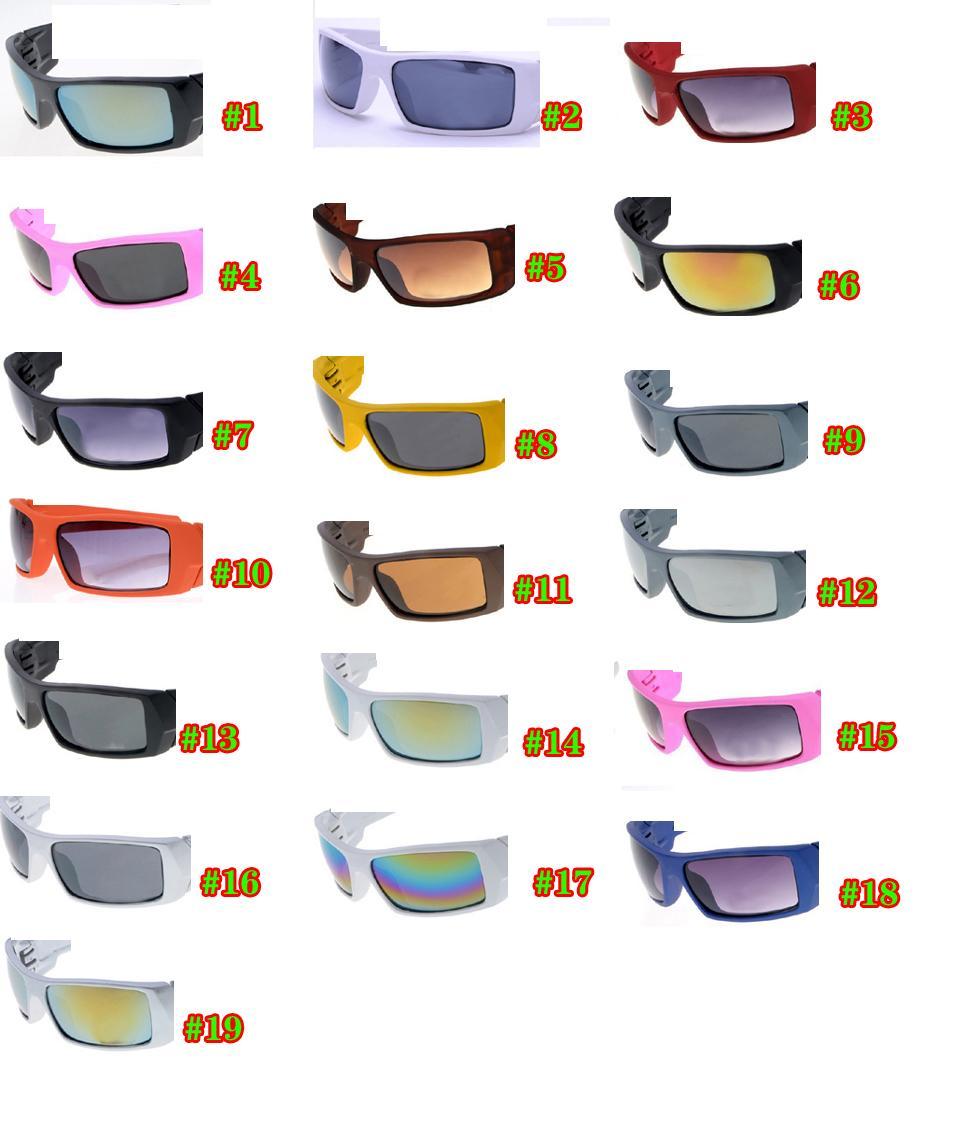 صيف جديد نمط wommen دراجة زجاج القيادة نظارات نظارات رياضية الرجال حملق ركوب الدراجات نظارات الشمس 19 ألوان شحن مجاني