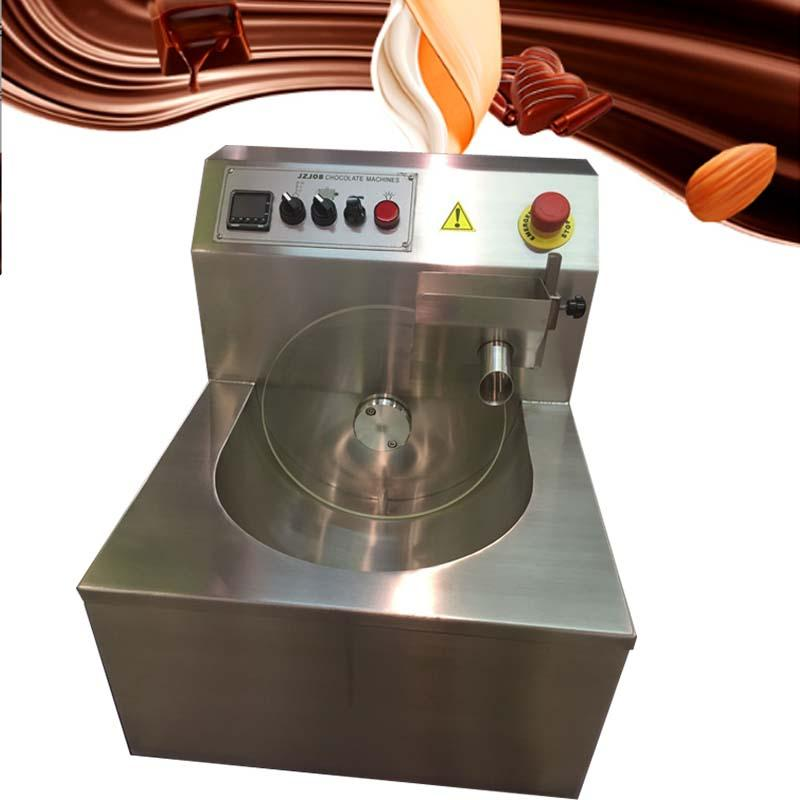 Wholesale price 8KG/15KG Chocolate Coating Machine Chocolate Covering Spreading Enrobing Maker Machine for Biscuit Wafer Cookies