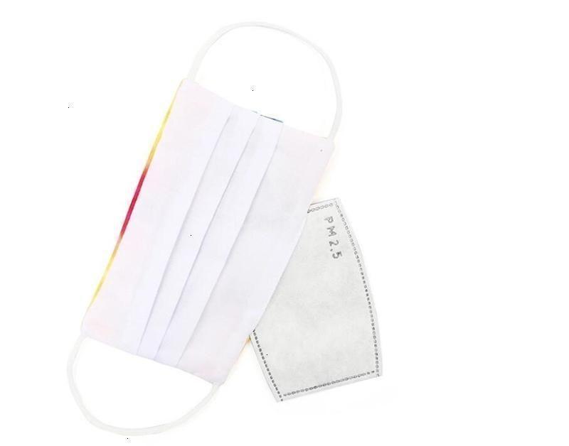 Alergias ajustables Faanti-polvo Saliva Humo Válvula reutilizable Original con 2 máscara Activa la almohadilla de inserción de filtro de carbón para PM2.5