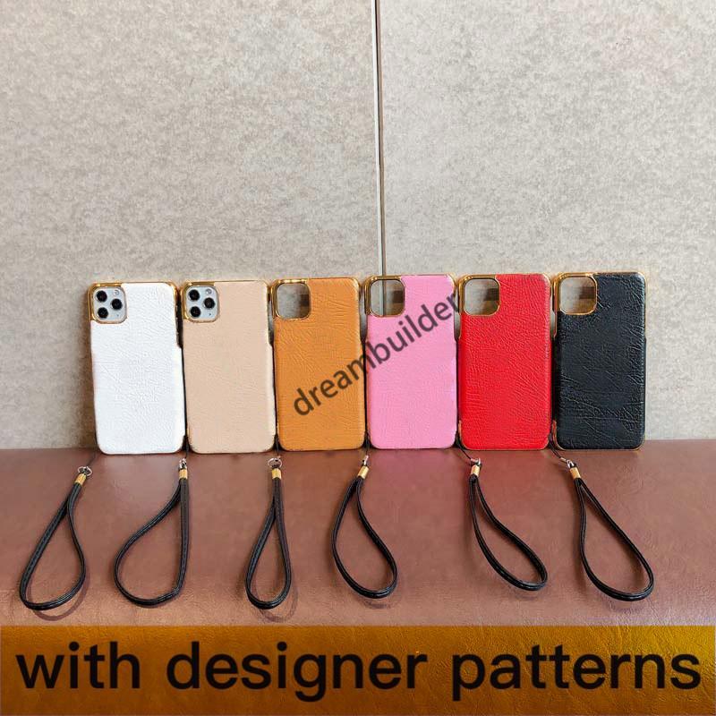 M Custodie per iPhone di modo all'ingrosso per 11 Pro Max 12 12Pro 12promax 7 8 Plus X XR XS XS XSMax Custodia PU Shell protettiva