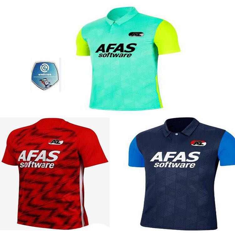 Promoção20 21 Futebol Jersey AZ 2020 2021 Karlsson Stengs Koopmeiners Boadu Clasie Sugawara Men Futebol Shirts Uniformes
