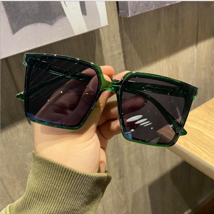 4 cores sexy moda enorme quadrado óculos de sol mulheres estilo de verão tamanho grande espelho espelho sol óculos femininos oculos uv400 20 pcs navio rápido