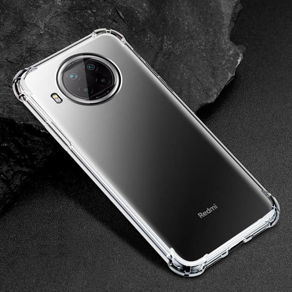 1.5mm Airbag Anti-Shock Transparent Klare TPU-Hüllen Abdeckung für Xiaomi 11 Pro RedMi Anmerkung 10 PRO 4G 5G CC9E 100pcs / lot