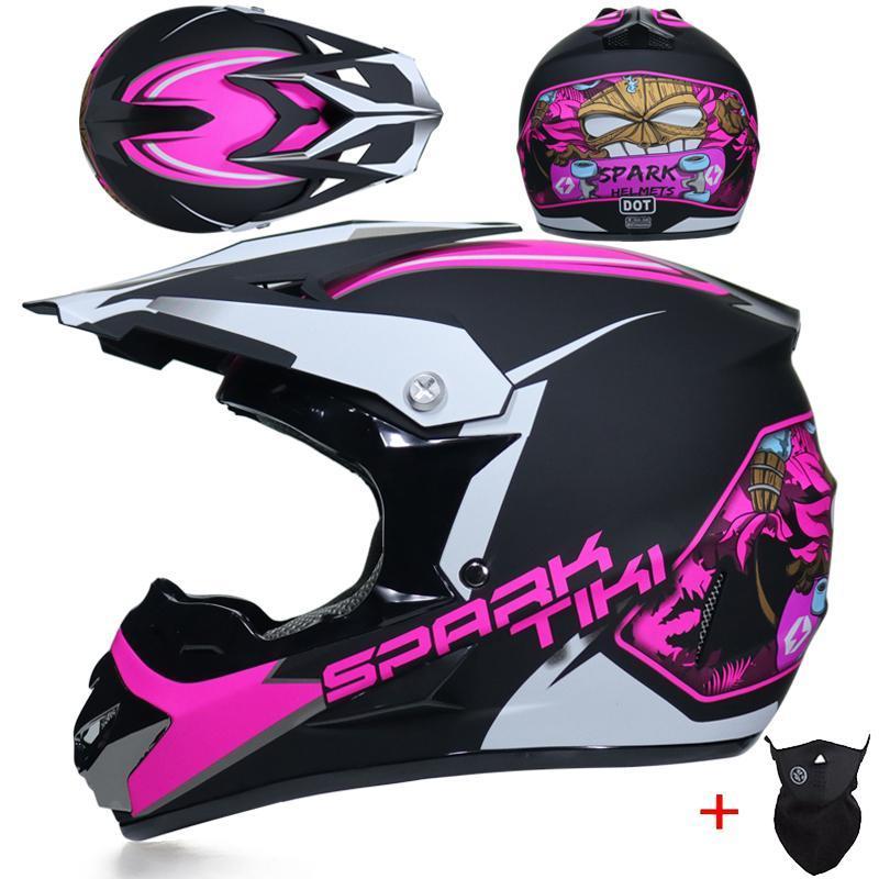 New Arrivals Motorcycle Motocross Helmets Abs Unisex Dot DH Motorcycle Racing Helmet Off-road Casco Casque Moto Dirt Bike Helm