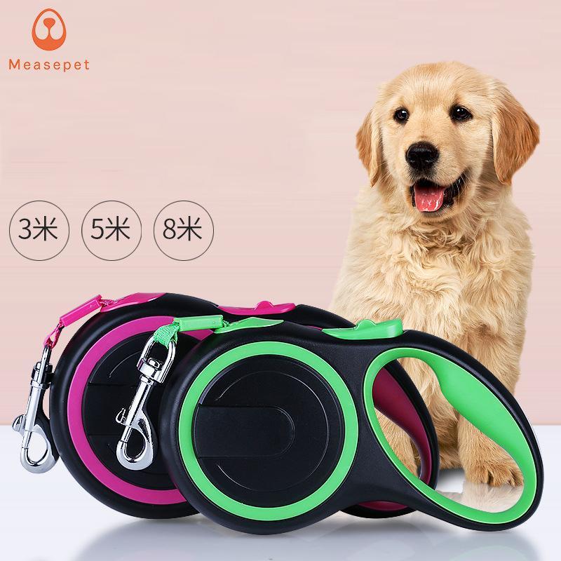 3 متر 5 متر 8 متر قابل للسحب الكلب المقاود الرصاص الحيوانات الأليفة القطط جرو المقود الأكياس التلقائي المشي للصغيرة والمتوسطة