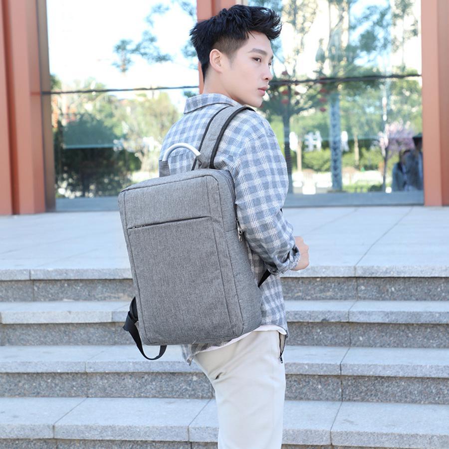 2021 New Business Backpack Inteligente Interface de Carregamento de Carregamento Portátil Saco de Computador de Viagem Estudante 78n6
