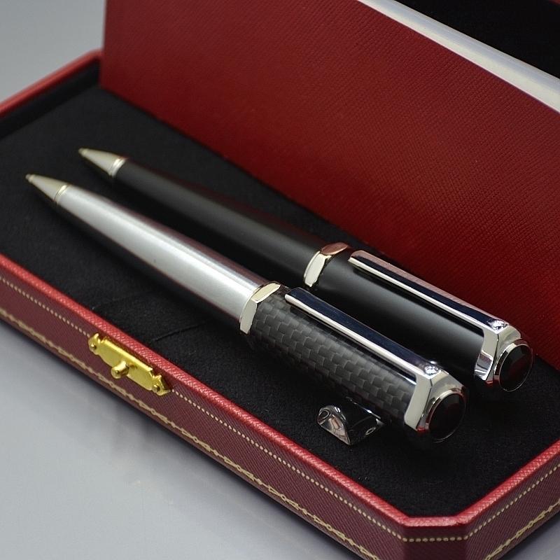 2021 Edição Limitada Santos-Dumont Series Caneta Esferográfica Top Alta Qualidade Carrinhos Branding Metal Ball Caneta Escrita Office Option Pens - M110797