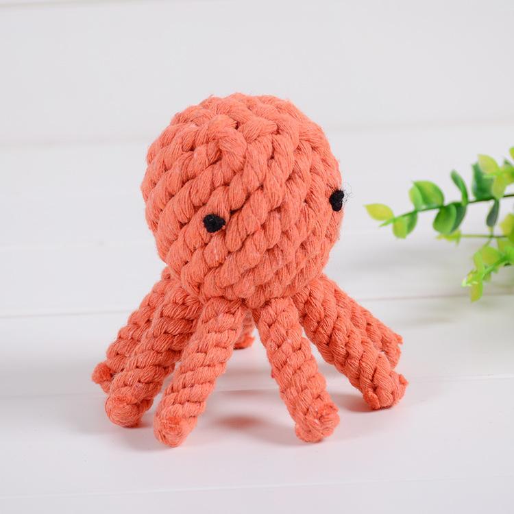DHL Octopus Dinosaure Coton Coton Tissu Pour adulte Decompompression Enfants Matériau en laine de laine 3 couleurs en option