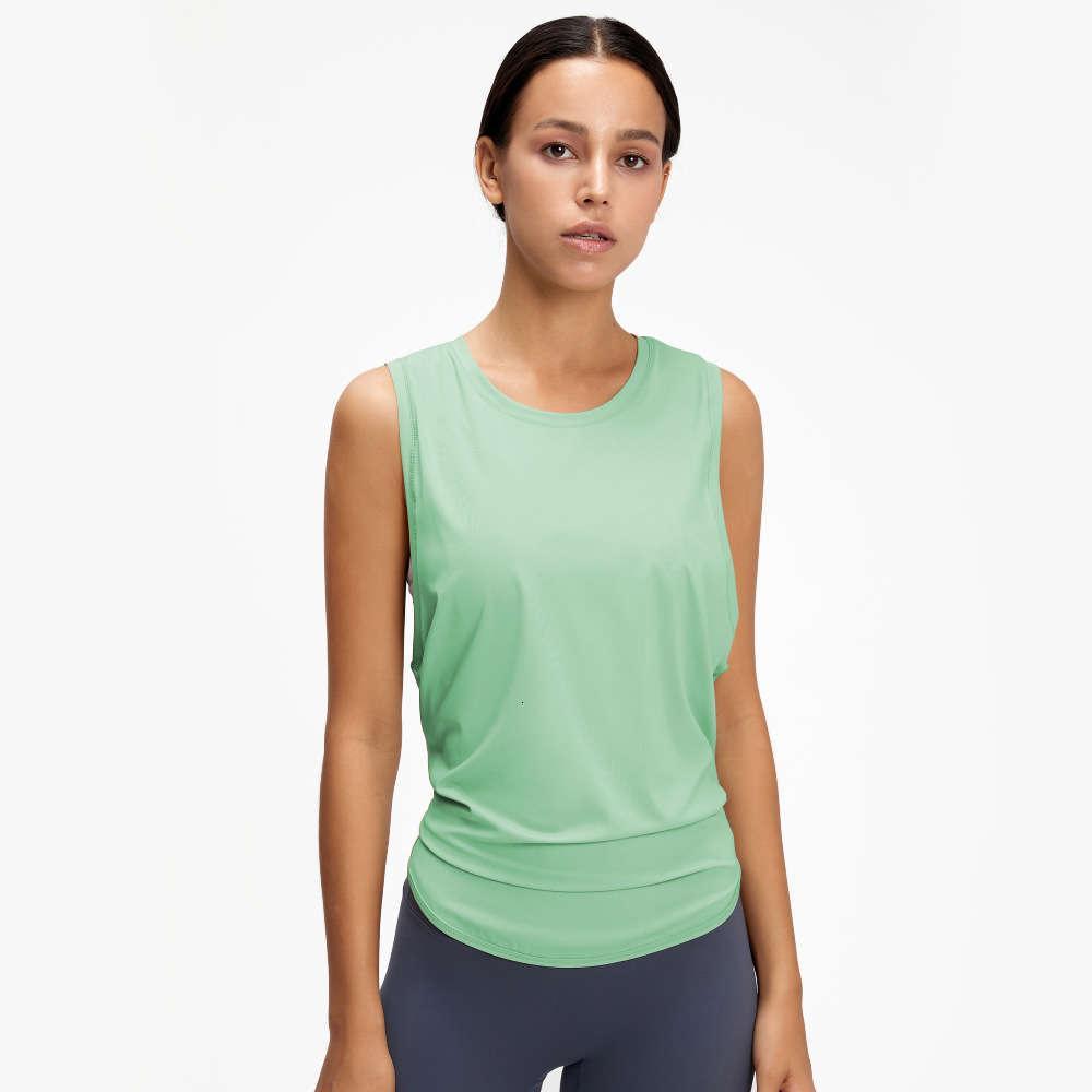 Neue Weste T-Shirt Frauen Laufende Mode Bandage Schnelltrocknung Atmungsaktive lose ärmellose Bluse