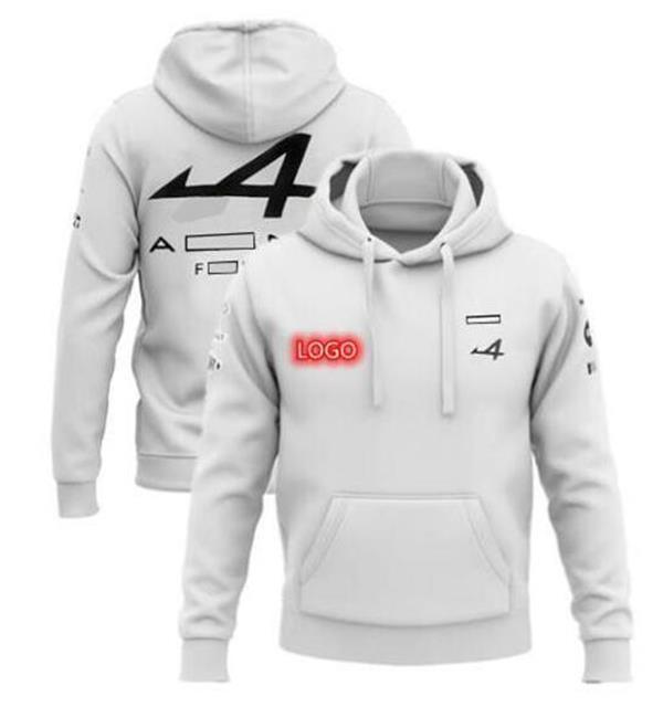 F1 Team Racing Sweat à capuche Nouvelle équipe de course La même personnalisation de style