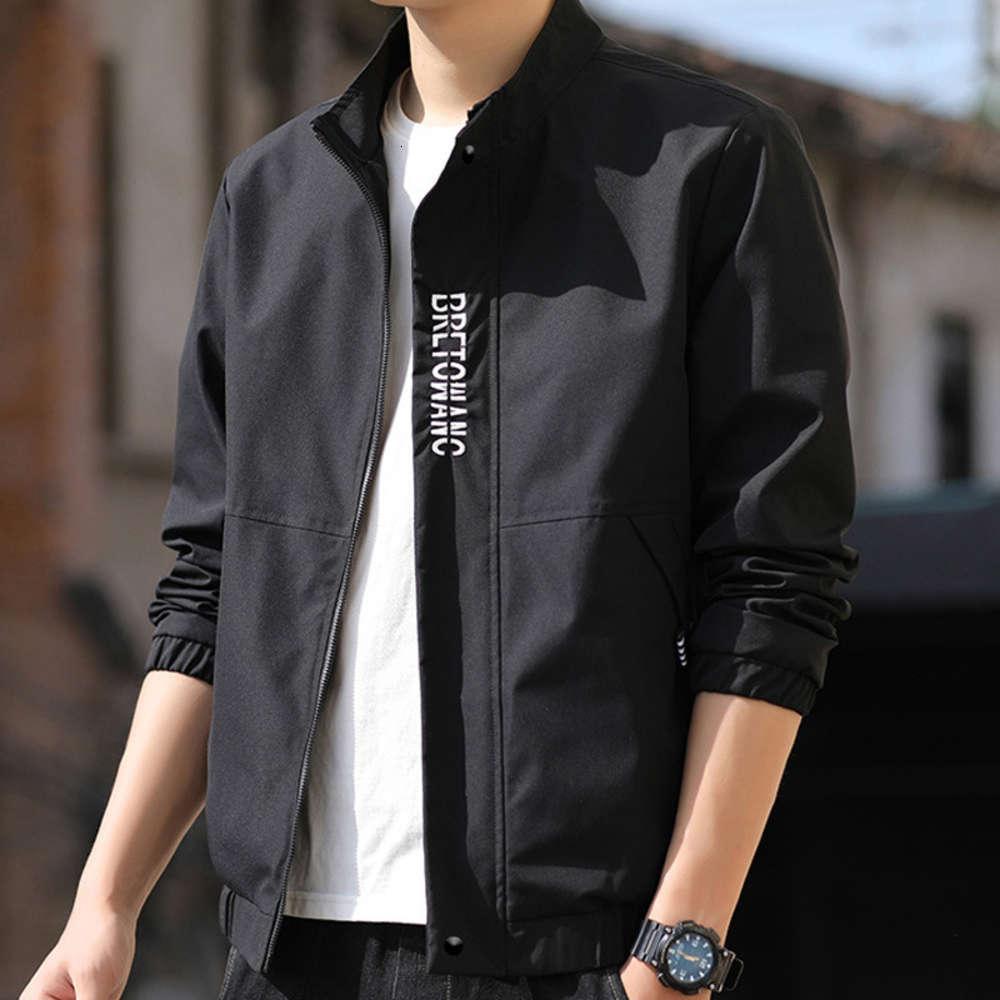Jacke Mantel Mantel 2021 Regelmäßiger Spring Stehkragen Koreanische Mode Coole Werkzeugteile Vielseitig
