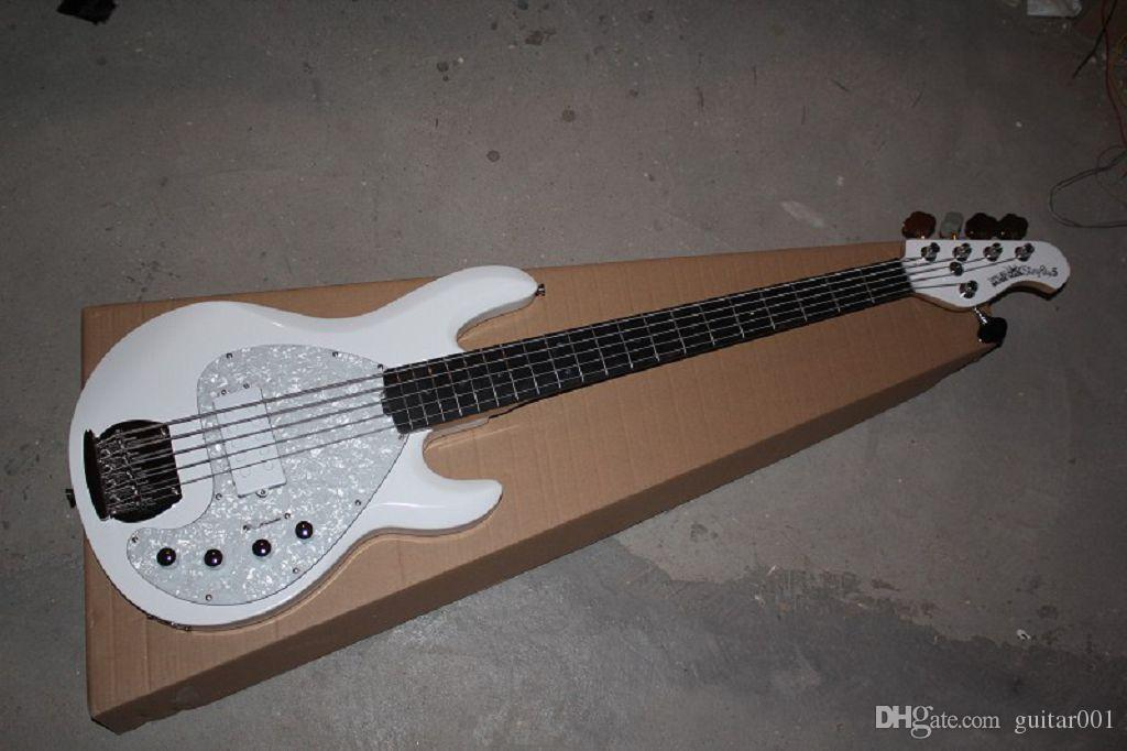 2014 Yeni Müzik Adam Sting Ray Aktif Pikap Elektrik Bas 5 Dizeleri Elektro Gitar Stokta
