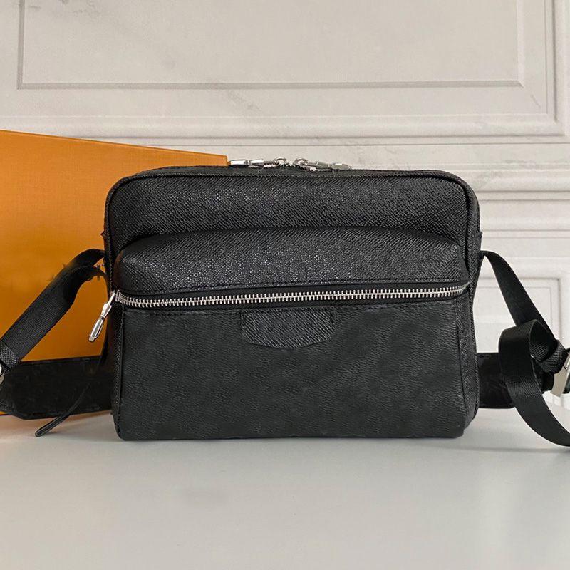 Top quality Messenger Bag Classic Fashion Crossbody Shoulder Bag Genuine Leather Men Women Handbag Purse Wallet old Flower Clutch Fannypack