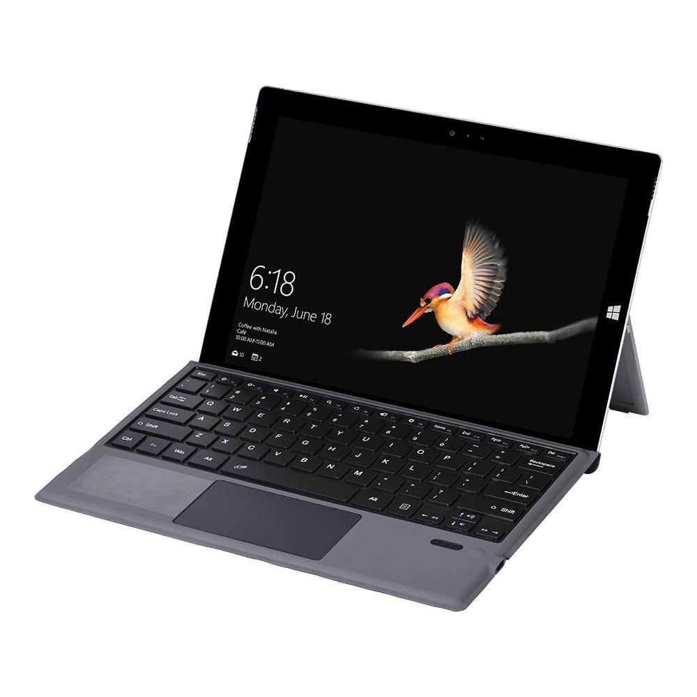 Custodia da tastiera Bluetooth nonversa per 12.2 pollici Microsoft Surface Pro 7 6 5 4 Tablet tastiera wireless tipo C
