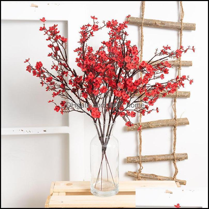 Flores decorativas guirnaldas festivas suministros jardinarticial seda estrella flor planta ramo fake casa boda mano sosteniendo decoración ga