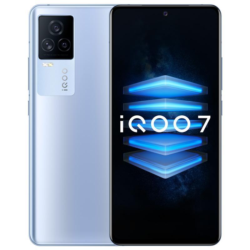 "Original vivo iqoo 7 5g Handy 12 GB RAM 256GB ROM Snapdragon 888 48.0mp AR NFC Android 6.62 ""Am gelöster Vollbild-Fingerabdruck-ID Face Wake 4000mAh Smart Handy"