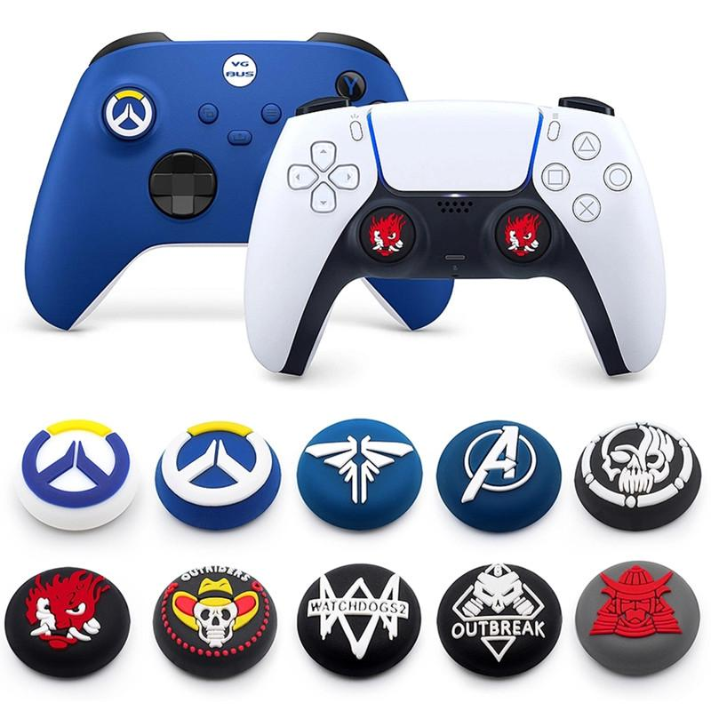Soft Silicone Grip Cap case For Sony Playstation 5 PS5/PS4/PS3/PS2/xbox Controller Thumb sticks Joysticke Stick Cover