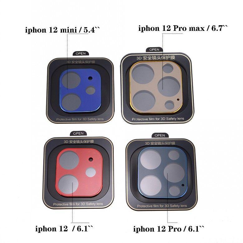 iPhone12 11 Pro XS Max Lens Screen Protector for iPhonex XR 12 미니 보호 필름에 대한 카메라 강화 유리