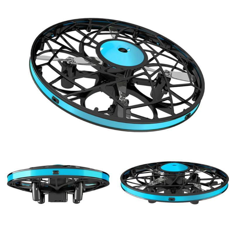Drones 360°Rotating Mini Gesture Sensor Unmanned Aircraft Suspension Toy Smart Four-Axis Children'S Gift
