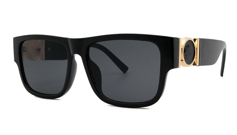 Alta Qualidade 8173 Medusaidade Marca Designer de óculos de sol óculos para homens mulheres moda búfalo óculos de sol com caixa caixa