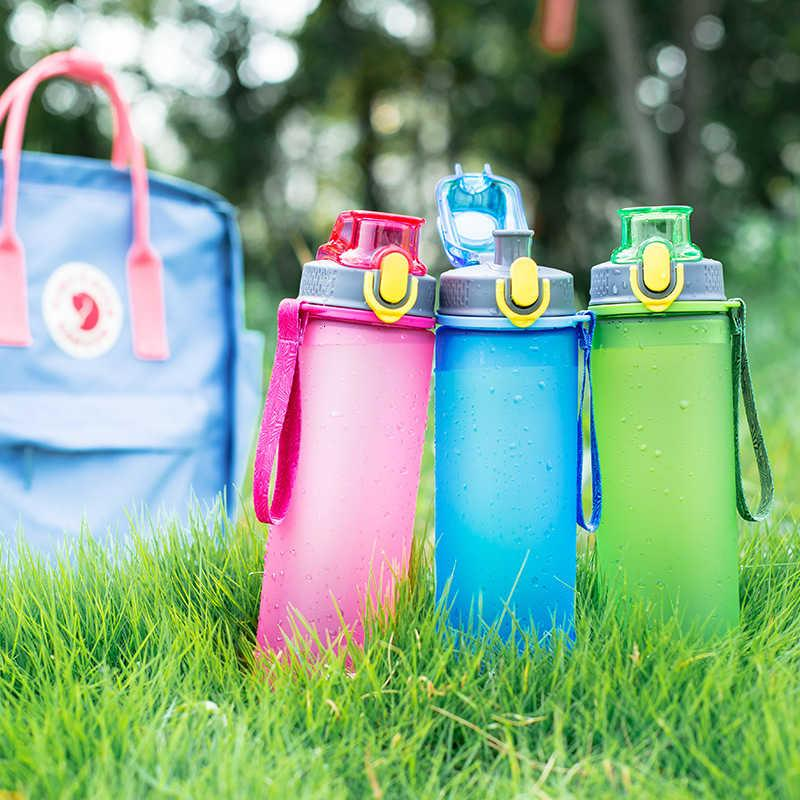 Plastic Tianxi Portable Water Student Korean Women's Sports Outdoor Large Capacity Frosted Cute Handy Cup