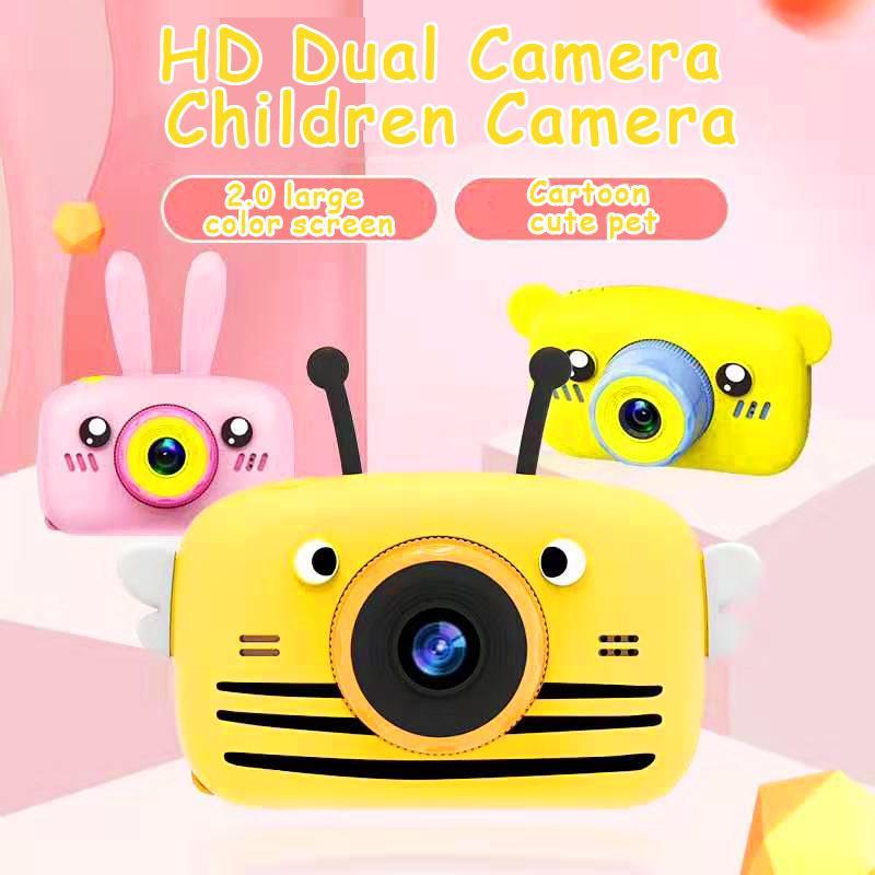 X9P مصغرة الكرتون الاطفال كاميرا الإبداعية للأطفال كاميرا المحمولة 1080P كاميرا للأطفال هدية عيد الميلاد