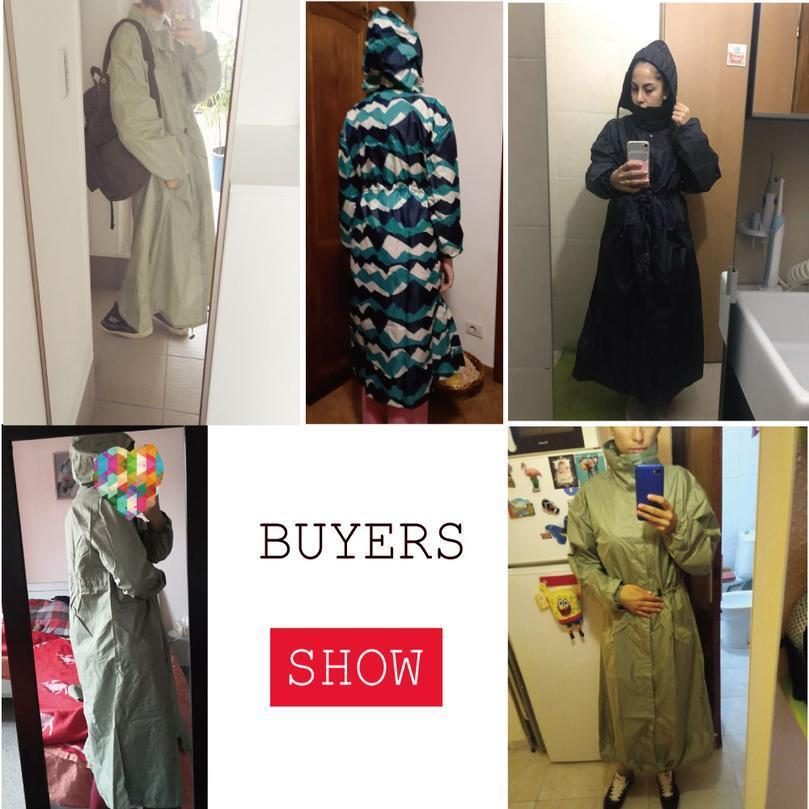 Outdoor Waterproof Long Rain Coat Women Men Poncho Windproof Tour Raincoat Jacket Hooded jllbiM