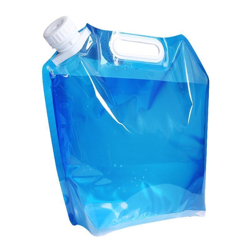 Автомобильный Органайзер Портативный Складной Складной Ручной 5/10 литр Открытый Питьевая Вода Кемпинг Контейнер Сумка