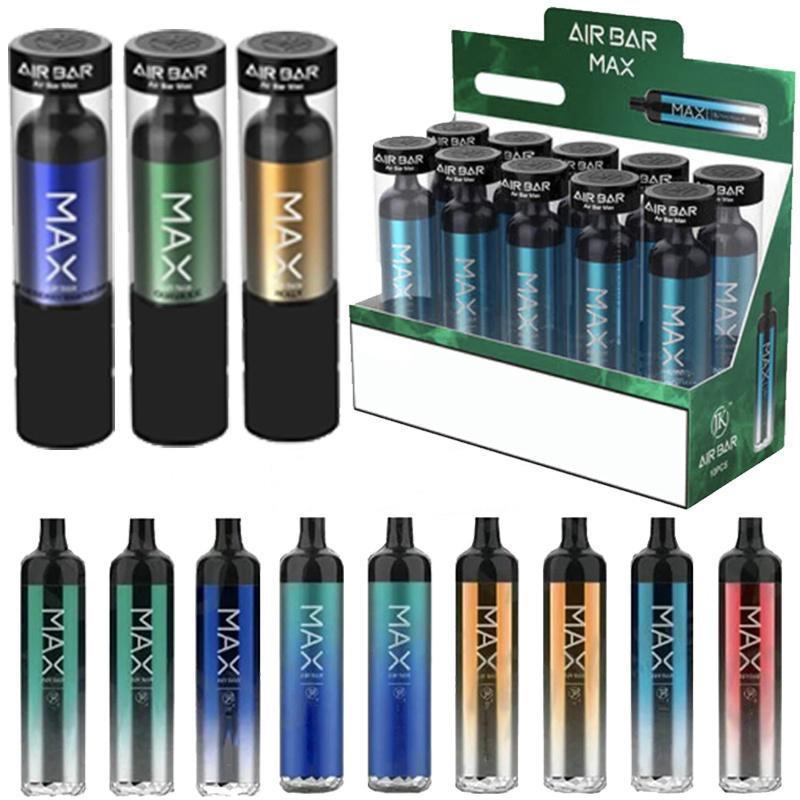 담배 에어 바 최대 럭스 일회용 장치 키트 1250mAh 배터리 6.5ml vape 포드 2000 퍼프 흡연 오일 펜