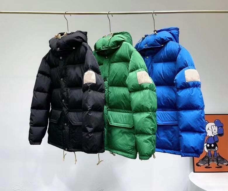 Frauen Herren Down Parkas Winter Oberbekleidung Casual Jacke Warme mit Kapuze Unisex Mantel Outwear Hip Hop Männer Streetwear Größe S-2XL JK2119