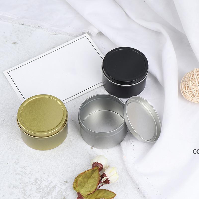 뚜껑이있는 촛불 항아리 미니 틴 상자 봉인 된 항아리 포장 상자 보석 사탕 작은 저장 캔 동전 귀걸이 헤드폰 가방 DHB8567